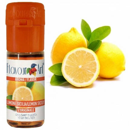 Ароматизатор Lemon Sicily (Сицилийский лимон) 5мл., фото 2