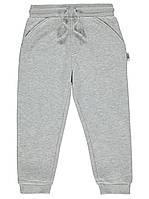 Серые спортивные штаны с начесом George (Англия) р. 80/86, 86/92, 98/104см, фото 1