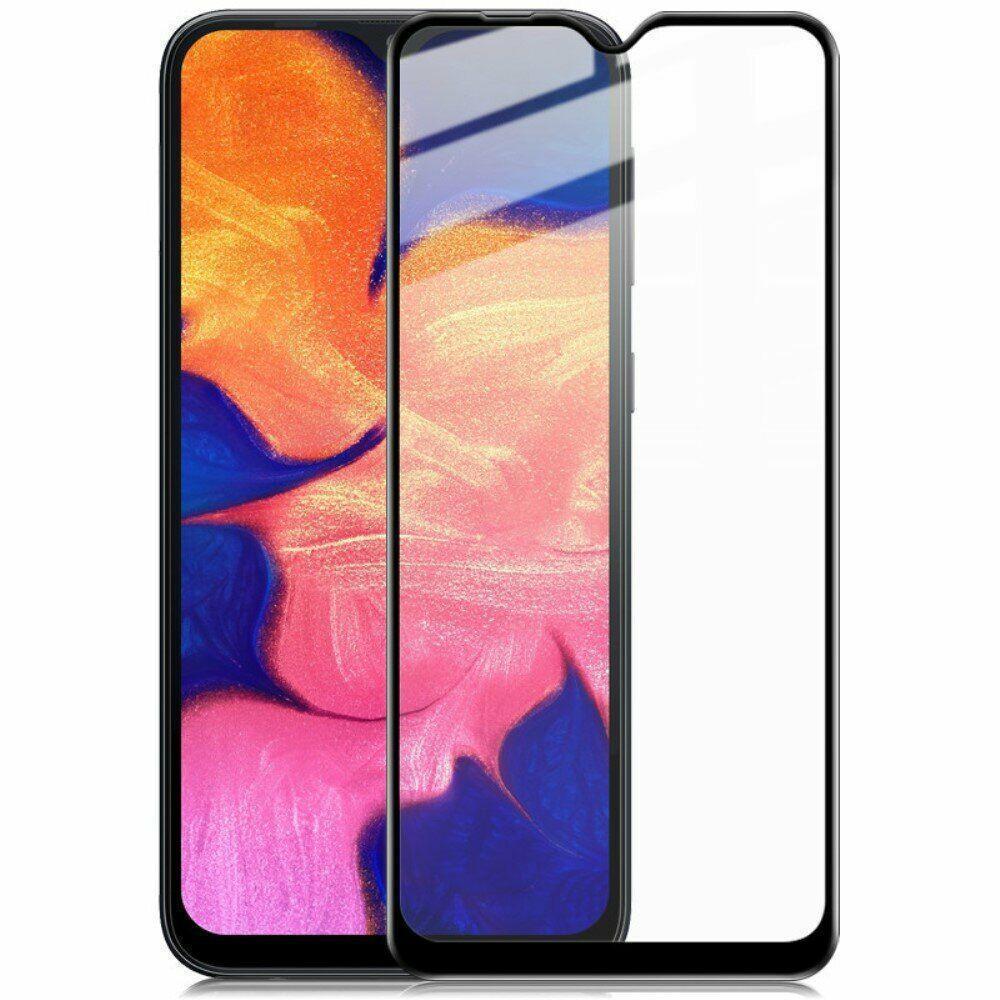 Защитное стекло для Samsung Galaxy A01 a015 2019 Black 3д