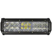 Автомобильная фара LED на крышу (18 LED) 54W-MIX | Авто-прожектор | Фара светодиодная автомобильная+ПОДАРОК!