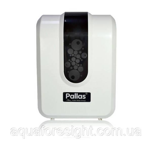 Проточный фильтр Pallas Enjoy Slim (с помпой) -  мембрана 300 GPD