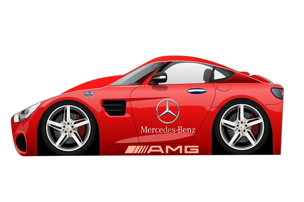 Кровать машинка Мерседес машина серии Бренд Mercedes Benz