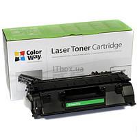 Лазерный картридж ColorWay CE505 / 280A, Цвет: Black (CW-H505 / 280M) Совместимость: HP LJ P2035 / P2055 / M42