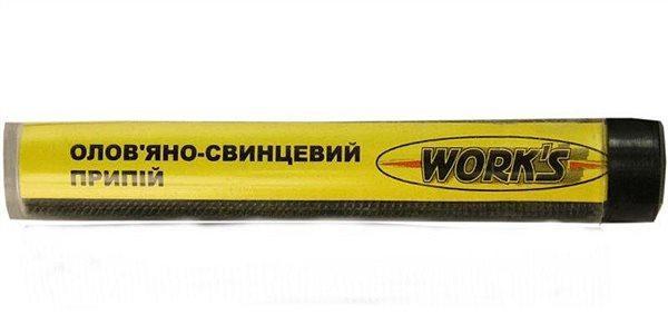 Припой оловянно-свинцовый Work's W15001 (d - 1.5 мм)