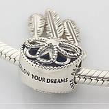Серебряный шарм «Ловец снов» стиль Pandora, фото 6