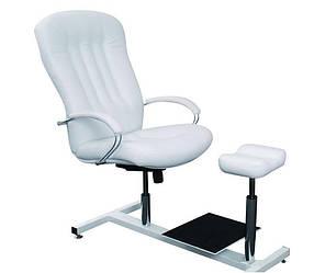 Кресло педикюрное Partos Zestaw кожзаменитель Boom-01 (Velmi TM)