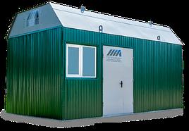 Транспортабельная котельная установка мощностью 200 квт
