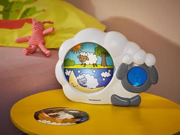 Дитячий нічник - регулятор сну з будильником на 4 мелодії SILVERCREST Німеччина