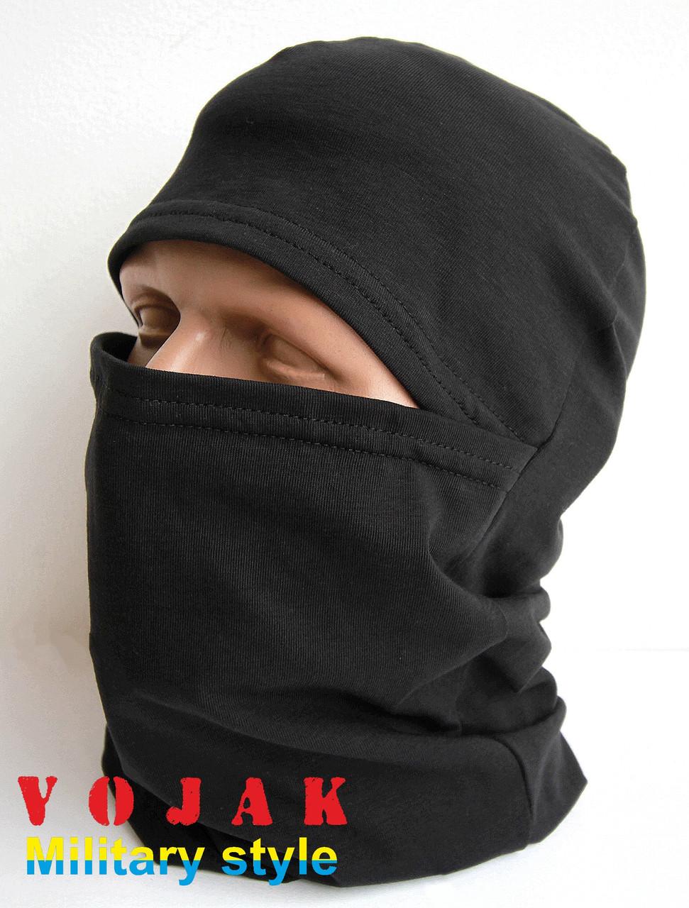 Маска - балаклава (стрейч- кулир) Black