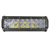 Автомобильная фара LED на крышу (18 LED) 54W-SPOT | Авто-прожектор | Фара светодиодная автомобильная+ПОДАРОК!