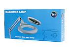 Лампа-лупа LED (3D/5D) с регулировкой яркости света, фото 5