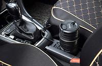 Автомобильная термокружка с подогревом в виде объектива Nikan