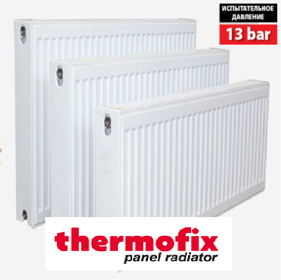 Радиатор стальной 22 тип 500H x 1400L - Нижнее подключение THERMOFIX