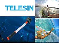 Плавающий монопод Aquapod (Telesin original), прозрачный монопод для GoPro и других камер