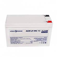 Аккумуляторная батарея LogicPower 12V 7.2AH (LPM-MG 12 - 7.2 AH) AGM мультигель