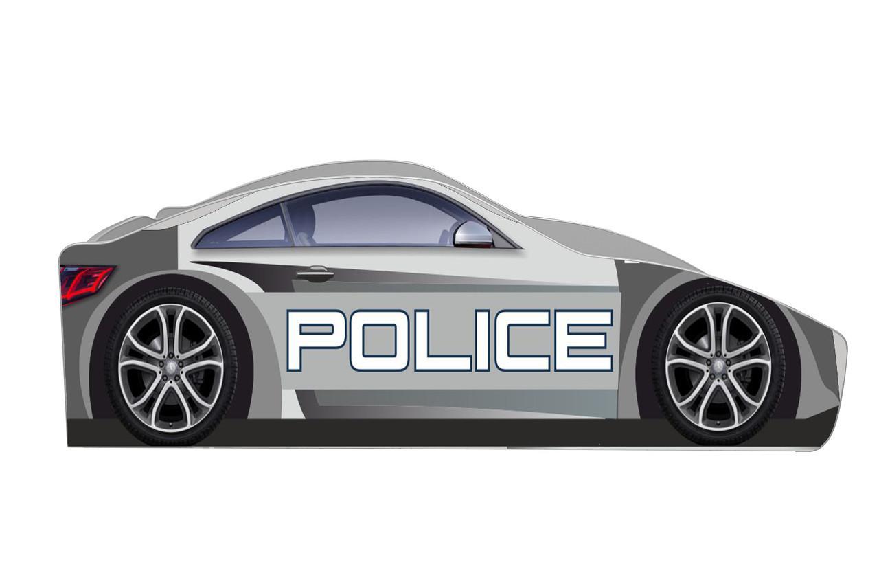 Кровать машинка Полицейская машина серии Бренд Полиция Police