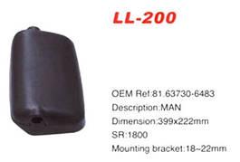 Крышка зеркала MAN основное/966/LL-200K