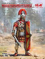 Римский Центурион I век. Сборная пластиковая фигура в масштабе 1/16. ICM 16302