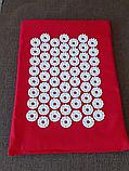 Акупунктурный массажный коврик для ног (коврик игольчатый для стоп массажный), 24 см*32см, фото 2