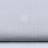 Отрез ткани 52смх50см №27а серый