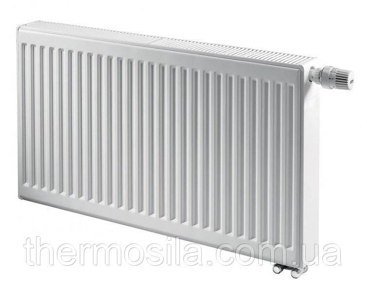 Стальной панельный радиатор KERMI FTV 11 тип 300х1400 THERM X2 нижнее подключение