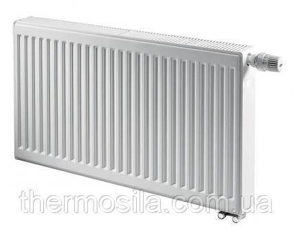 Сталевий панельний радіатор KERMI FTV 11 тип 500х1100 (збоку) THERM X2 нижнє підключення
