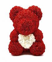 Подарок для Девушки. Мишка из Роз в Подарочной коробке. Она будет в Восторге.