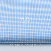Отрез ткани 52смх50см №185а голубой