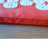 """Килимок акупунктурний Нірвана """"Релакс"""" 55*40*1 см (Shakti Mate, Acupressure mat), бірюзовий, фото 5"""