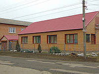 Ремонт фасада дома профнастилом, фото 1