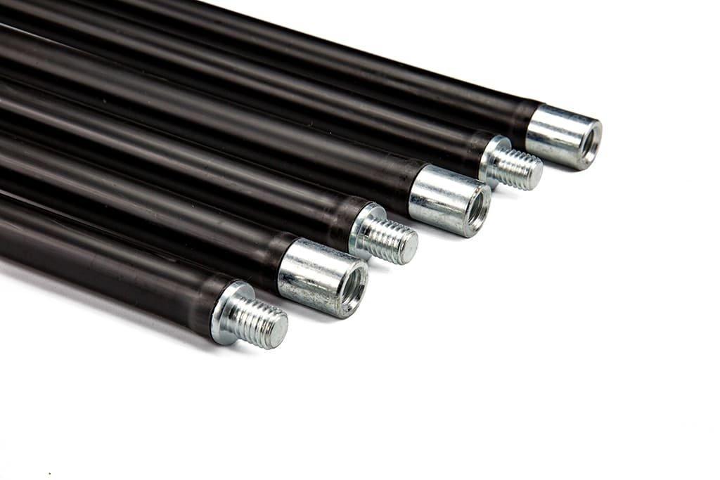 Набор гибких ручек палок для чистки дымохода Savent 1,4 м х 6 шт