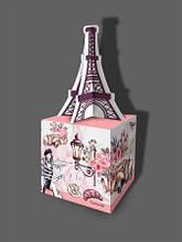 Подарочная коробка для конфет с открыткой, Париж, 500 грамм