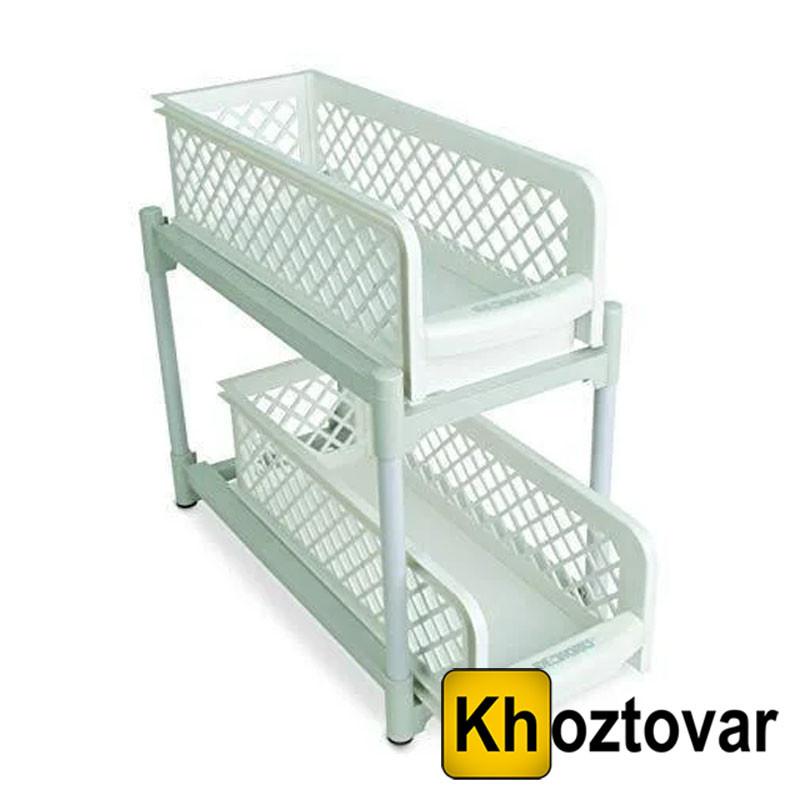 Органайзер Portable 2 Tier Basket Drawers