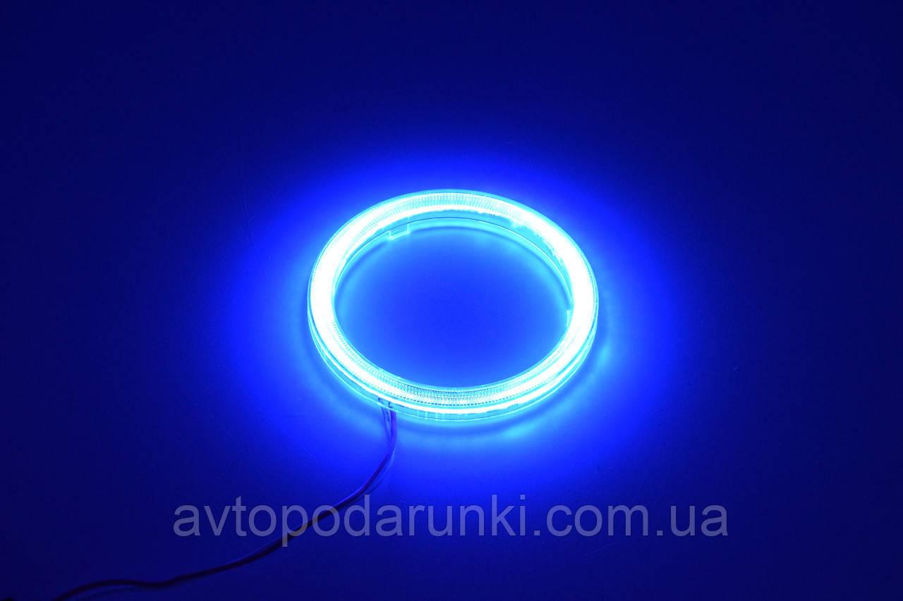 Светодиодные ангельские глазки 80 (68мм/83мм) / Холодный Синий