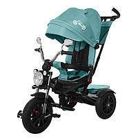 Велосипед трехколесный TILLY TORNADO T-383 Темно-зелений /1/