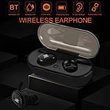 Наушники JBL TWS 4 Bluetooth Беспроводные сенсорные с зарядным кейсом (копия), фото 3