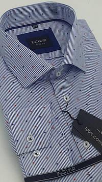 Рубашка мужская в полоску хлопковая INGVAR