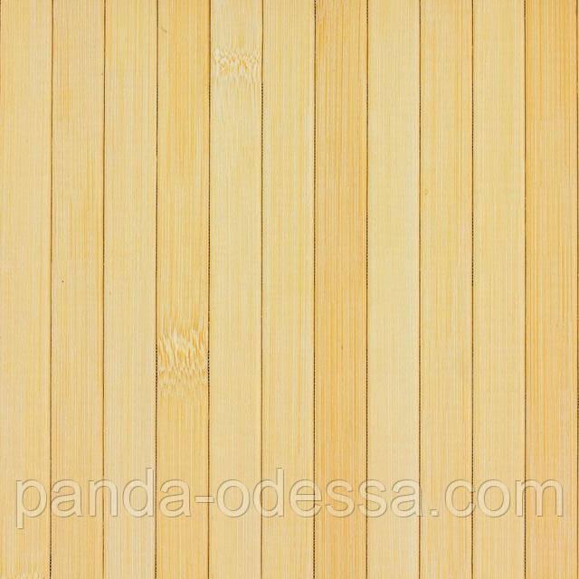 В пределах отрезка 5 м.п. /Бамбуковые обои светлые,1,5 м, ширина планки 17 мм / Бамбукові шпалери