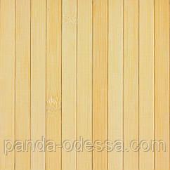 В пределах отрезка 2 м.п. /Бамбуковые обои светлые,1,5 м, ширина планки 12 мм / Бамбукові шпалери