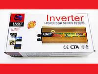 Инвертор 2000W 24V Преобразователь тока AC/DC