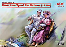 Американские водители спортивных автомобилей (1910 год). 1/24 ICM  24014
