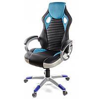 Кресло для геймеров АКЛАС Григ PL TILT Синий (06158) КОД: 06158
