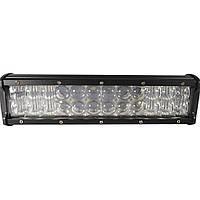 Автомобильная фара LED на крышу (24 LED) 72W-MIX | Авто-прожектор | Фара светодиодная автомобильная+ПОДАРОК!