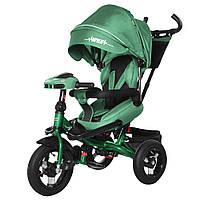 Велосипед трехколесный TILLY Impulse с пультом и усиленной рамой T-386 Зелений