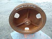 Шкив  360 мм/ 35-29 мм/ В-2 ручья подходит на компрессор СО-7б
