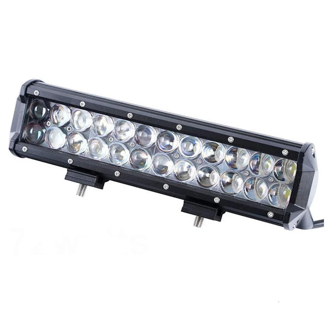 Автомобильная фара LED на крышу (24 LED) 72W-SPOT | Авто-прожектор | Фара светодиодная автомобильная+ПОДАРОК!