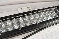 Автомобильная фара LED на крышу (24 LED) 72W-SPOT | Авто-прожектор | Фара светодиодная автомобильная+ПОДАРОК!, фото 3