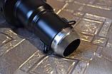 """Глушник - прямоток універсальний короткий """"монотонний"""" чорний для мотоцикла (скутера) 325х105мм, фото 5"""