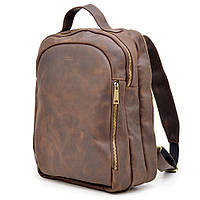 Повседненый мужской рюкзак  из натуральной кожи Crazy Horse