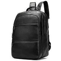 Кожаный рюкзак мужской уникального стиля
